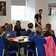 Author Alan Bissett writing workshop at Tower Mill, Hawick