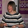 Author Gill Arbuthnott reading at Hawick High School
