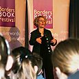 Author Vivian French reads at Hawick High School