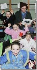 Trinity Primary School pupils love reading crop