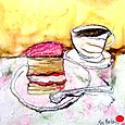 Tea and Cake - SOLD