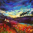 Through the Poppy Fields - SOLD