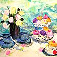 Tea with Rose - SOLD