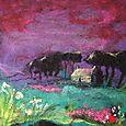Under Purple Mountain - SOLD
