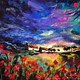 Sundown Poppies - SOLD