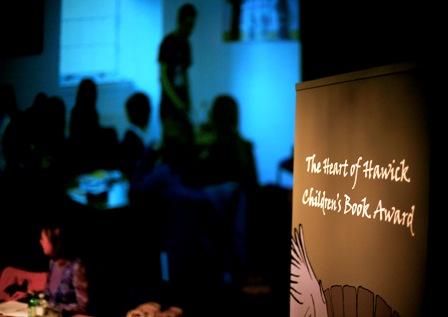 Video screening at Heart of Hawick Children's Book Award