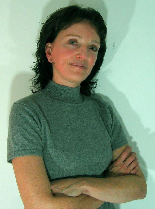 Ingrid Lee, writer of Dog Lost (and owner of Cash)