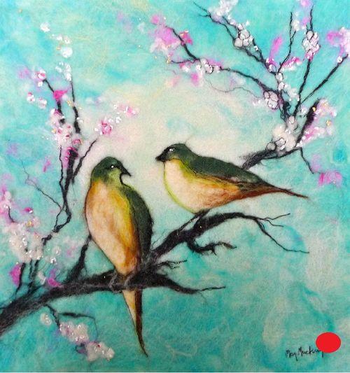 Love Birds - SOLD