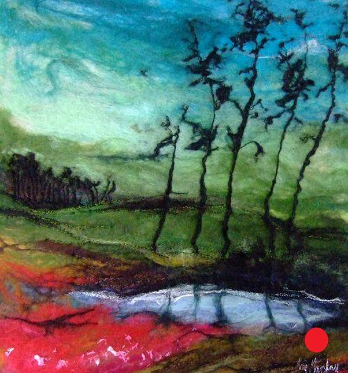 Magenta Pines - SOLD