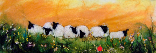 Tangerine Grazing - SOLD